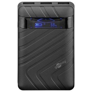 Goobay Yleismallinen 3 USB portti Ulkoinen Akku / Virtapankki Musta