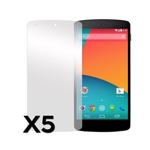 Google Nexus 5 Näytön Suojakalvo 5 Kpl