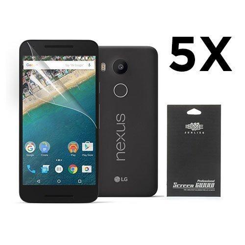 Google Nexus 5x Näytön Suojakalvo. 5 Kpl.