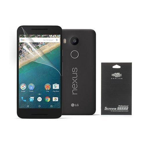 Google Nexus 5x Näytön Suojakalvo Musta Pakkaus