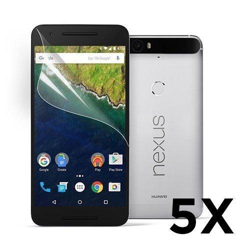 Google Nexus 6p Näytön Suojakalvo. 5 Kpl.