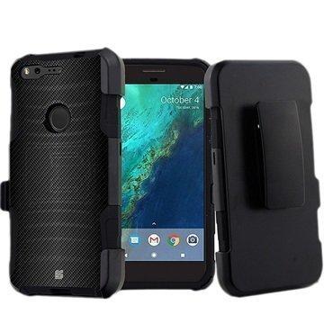 "Google Pixel Beyond Cell Armor Kombo suojakuori â"" Hiilikuitu"