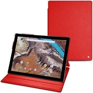 Google Pixel C Noreve Tradition Leather Case Ambition Tomate