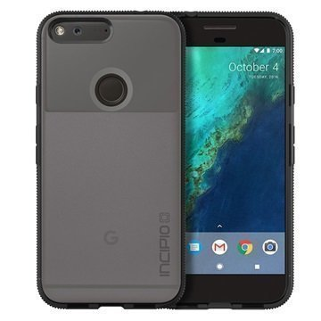 Google Pixel Incipio Octane Suojakuori Huurre/Musta