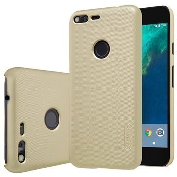 Google Pixel Nillkin Super Frosted Shield Kotelo Kulta