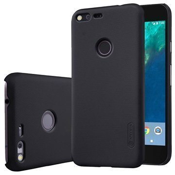 Google Pixel Nillkin Super Frosted Shield Kotelo Musta