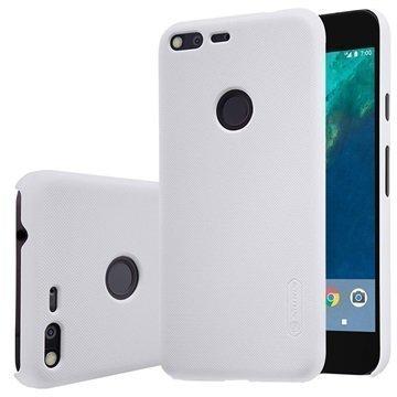 Google Pixel Nillkin Super Frosted Shield Kotelo Valkoinen
