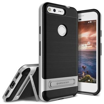 Google Pixel VRS Design High Pro Shield Case Silver