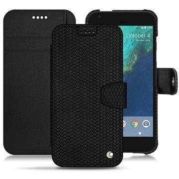 Google Pixel XL Noreve Tradition B Wallet Case Abaca Black