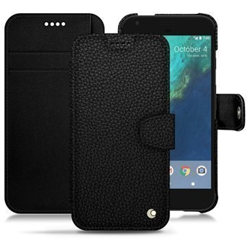 Google Pixel XL Noreve Tradition B Wallet Case Eebenpuunmusta