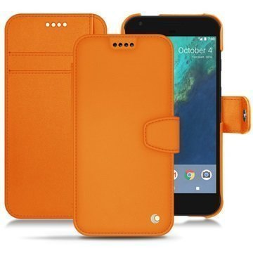 Google Pixel XL Noreve Tradition B Wallet Case Oranssi