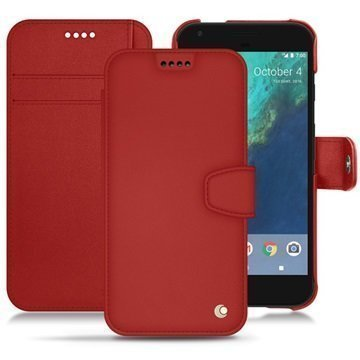 Google Pixel XL Noreve Tradition B Wallet Case Punainen