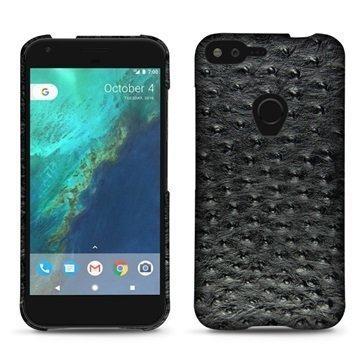 Google Pixel XL Noreve Tradition E Cover Autruche Black