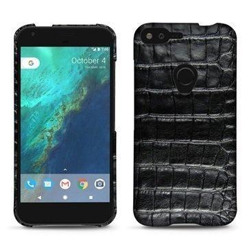 Google Pixel XL Noreve Tradition E Cover Crocodile Black