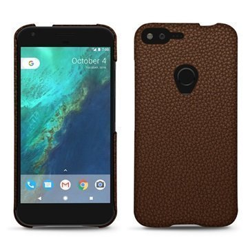 Google Pixel XL Noreve Tradition E Cover Kastanjanruskea