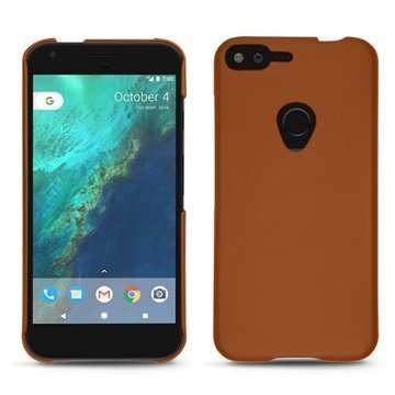 Google Pixel XL Noreve Tradition E Cover Ruskea