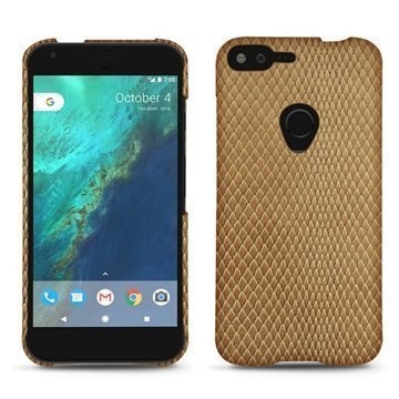 Google Pixel XL Noreve Tradition E Cover Serpent Hiekanruskea
