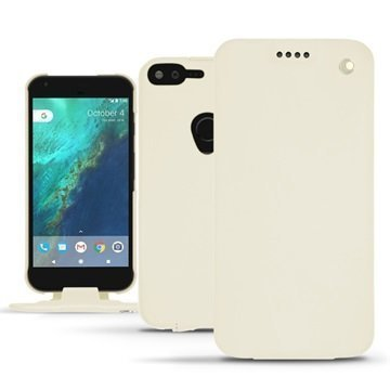Google Pixel XL Noreve Tradition Flip Case Valkoinen
