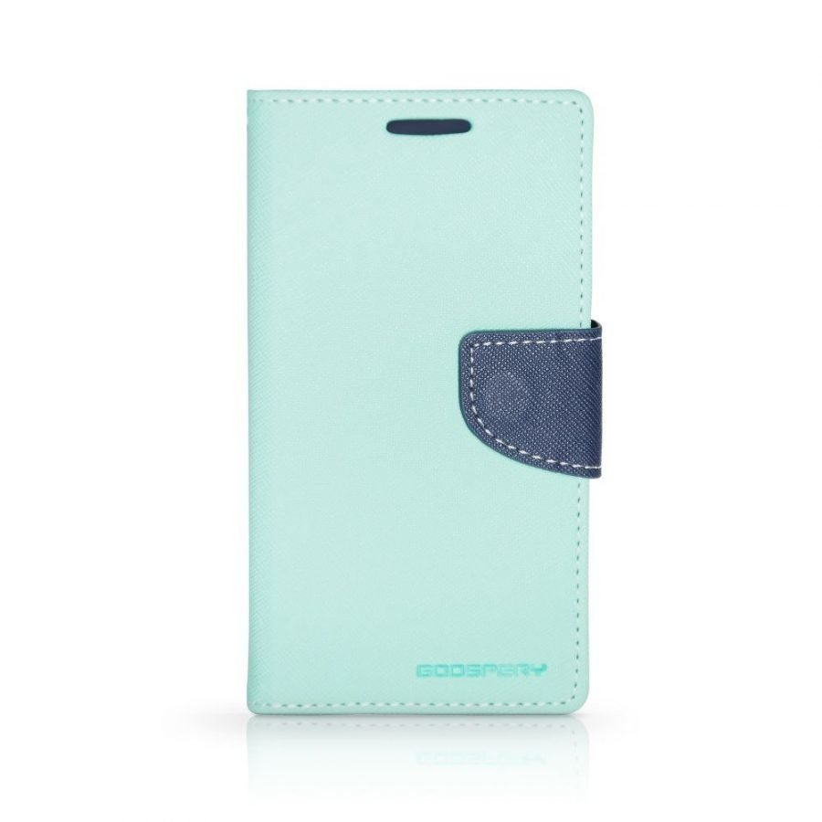 Goospery Fancy Nokia Lumia 930 Lompakko suojakotelo mint-navy