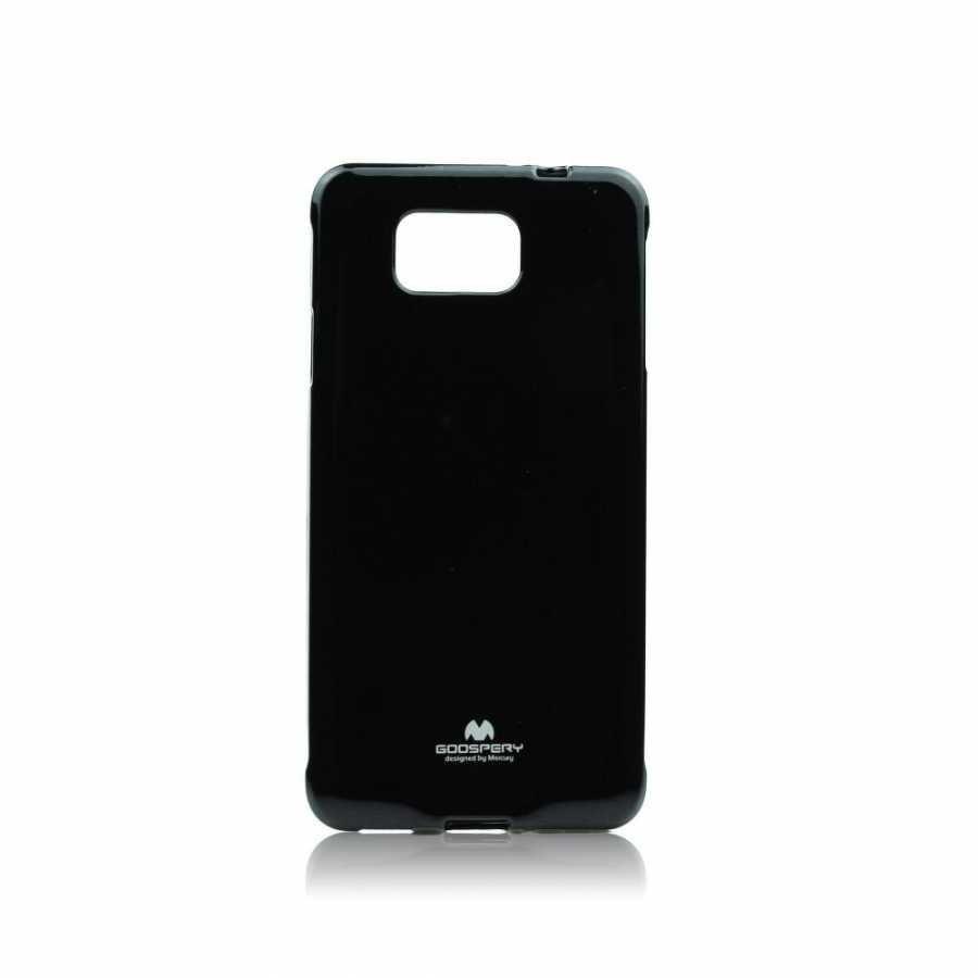 Goospery Jelly Case Nokia Lumia 630/635 Musta