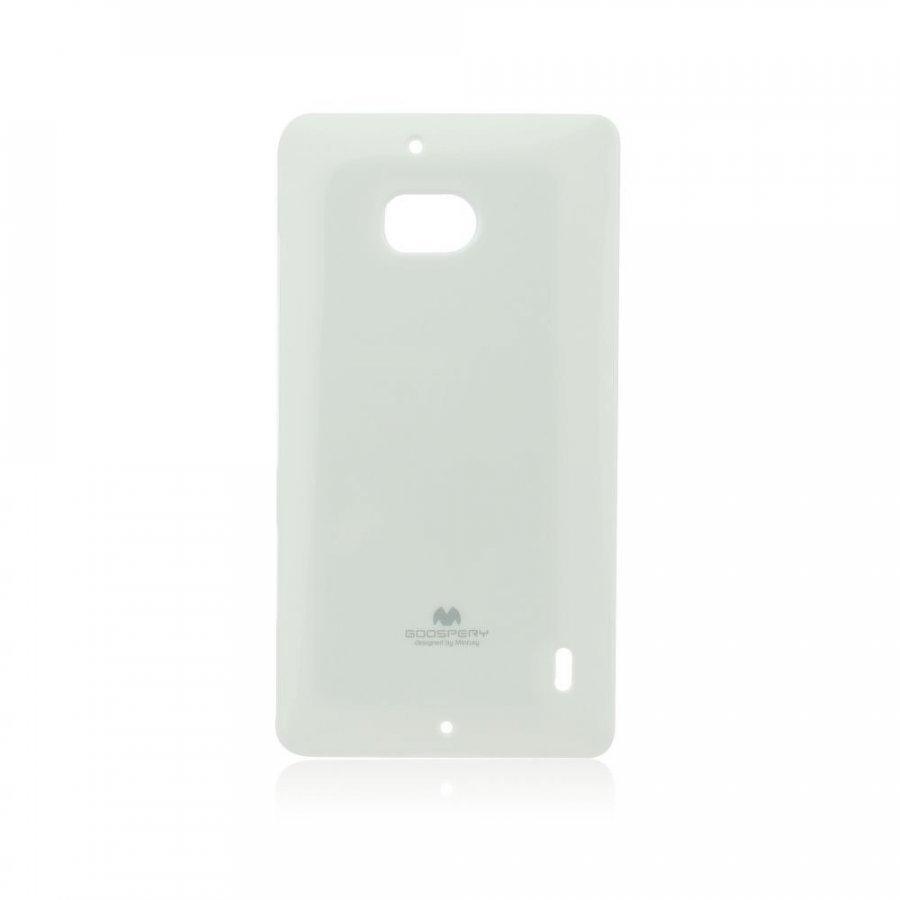 Goospery Jelly Case Nokia Lumia 830 Valkoinen