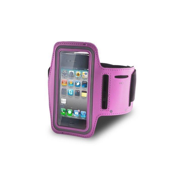GreenGo Arm Case iPhone 4/4s Vaaleanpunainen