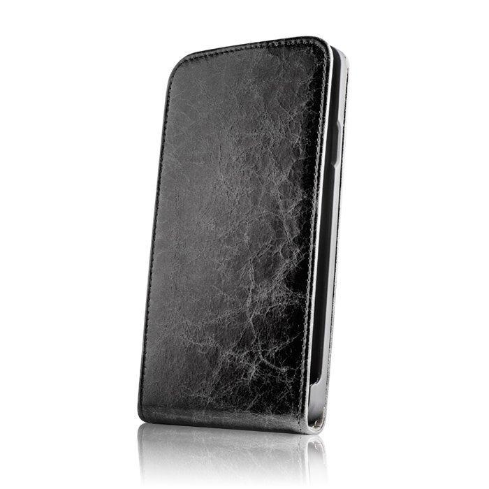 GreenGo Lumia 930 / 935 Suojakotelo Käsityö Aito Nahka musta