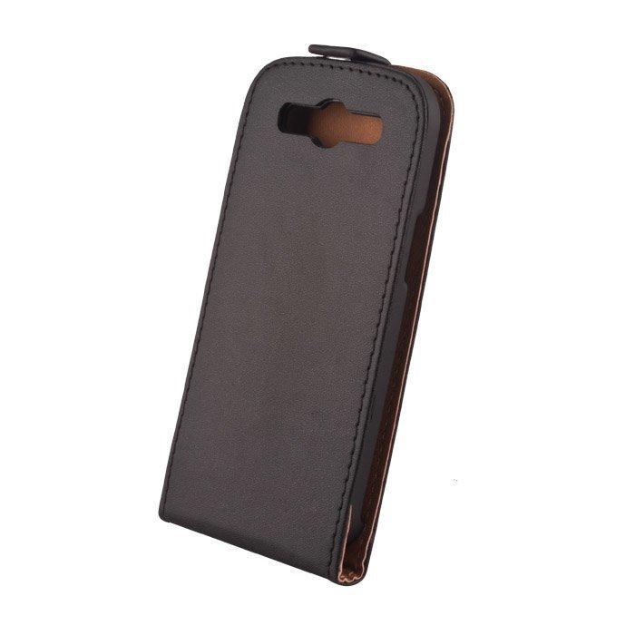 GreenGo Nokia X suojakotelo Laadukasta keinonahkaa Musta