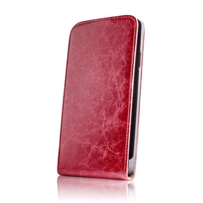 GreenGo iPhone 6 Suojakotelo Käsityö Aito Nahka Punainen