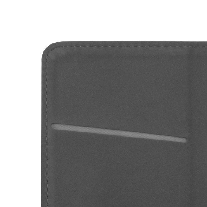 Greengo Smart Magnet Lompakkomallinen suojakotelo Huawei P8 Lite Musta