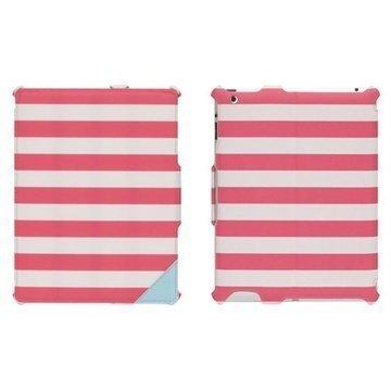 Griffin Journal Cabana Flip Kotelo iPad 2 iPad 3 iPad 4 Pinkki / Kuuma Pinkki