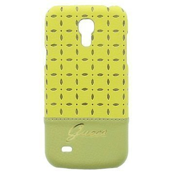 Guess Gianina Cover Samsung Galaxy S4 mini I9190 I9192 I9195 Yellow