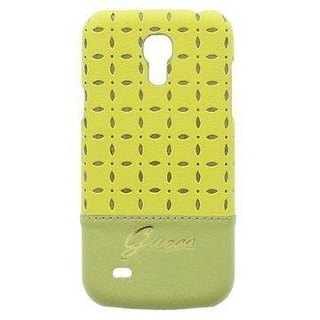 Guess Gianina Cover Samsung Galaxy S4 mini I9190 I9192 I9195 Yellow