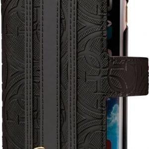 Guess Heritage Booktype Case iPhone 6/6S Plus Black
