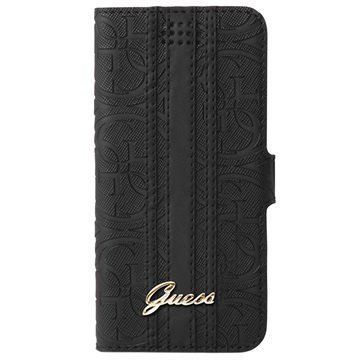 Guess Heritage Universal Wallet Case L Black