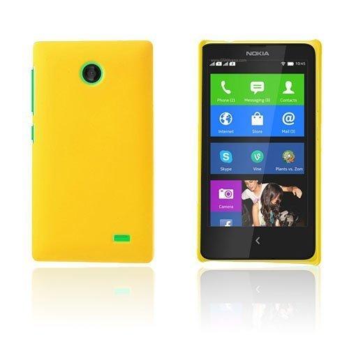 Guillou Keltainen Nokia X Suojakuori
