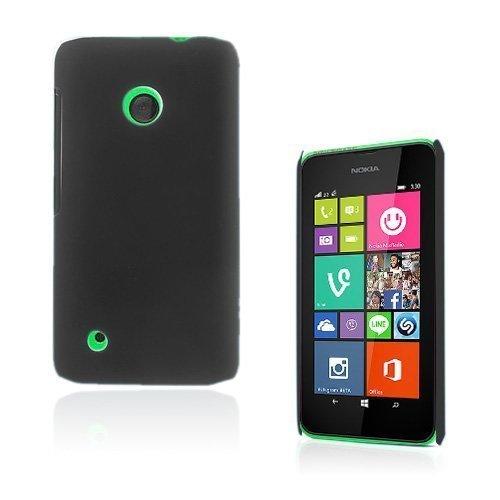 Guillou Musta Nokia Lumia 530 Suojakuori