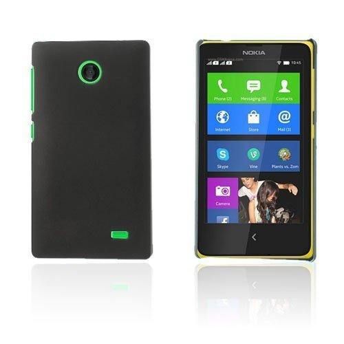 Guillou Musta Nokia X Suojakuori