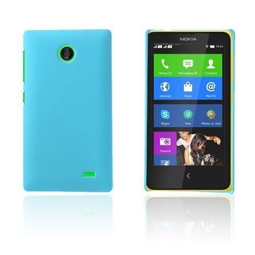 Guillou Vaalea Sininen Nokia X Suojakuori