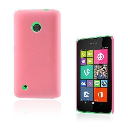 Guillou Vaaleanpunainen Nokia Lumia 530 Suojakuori