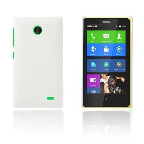 Guillou Valkoinen Nokia X Suojakuori