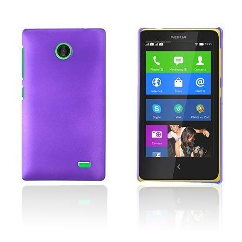 Guillou Violetti Nokia X Suojakuori