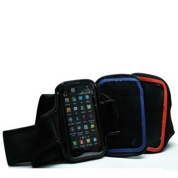 Gym Käsivarsikotelo Älypuhelimille Sininen
