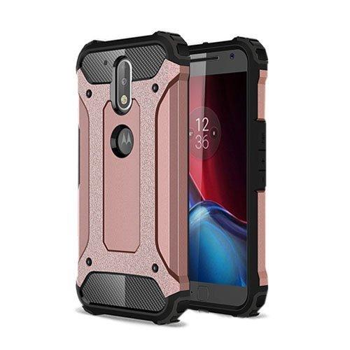 Hårderåde Motorola Moto G4 / G4 Plus Tpu Suojakuori Rosee Kulta