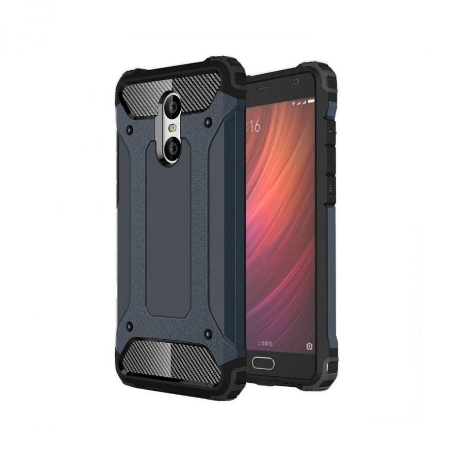 Hårderåde Xiaomi Redmi Pro Joustava Panssari Muovikuori Tummansininen