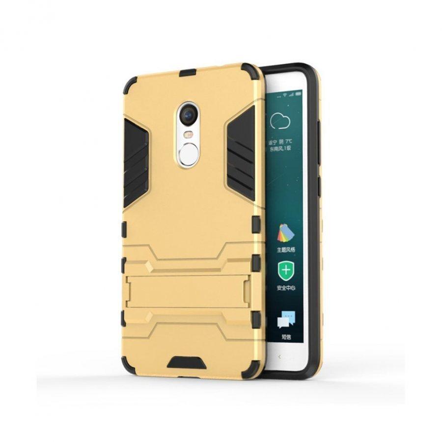 Hårderåde Xiaomi Remi Note 4 Joustava Hybridi Kuori Kulta