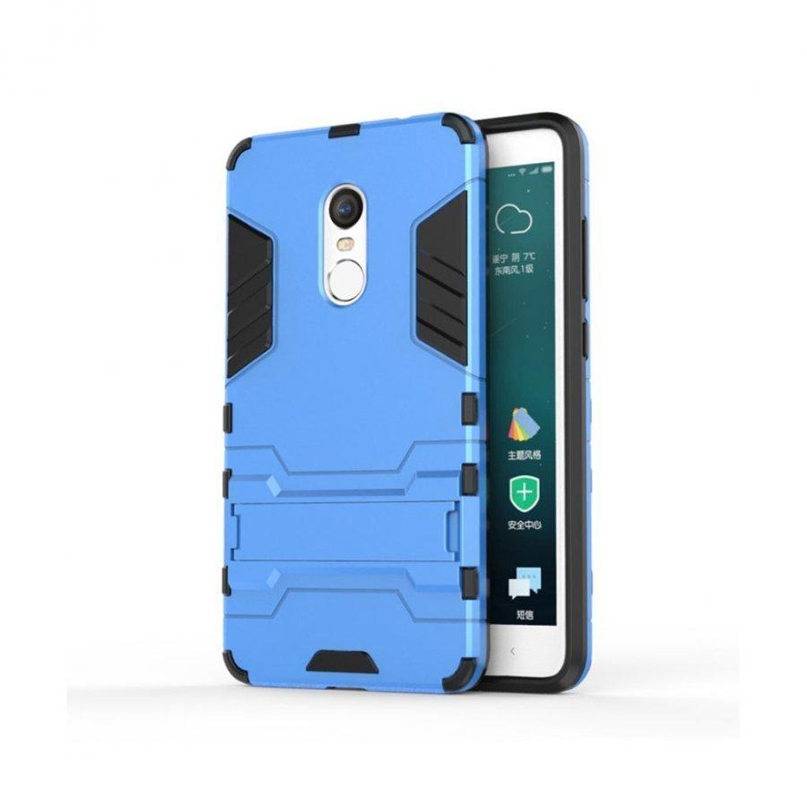 Hårderåde Xiaomi Remi Note 4 Joustava Hybridi Kuori Vaaleansinien