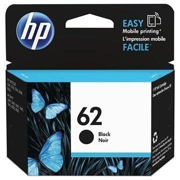 HP 62 Mustepatruuna Officejet 5740 Envy 5640 Envy 7640 Musta