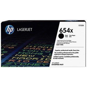 HP 654X Toner CF330X Musta