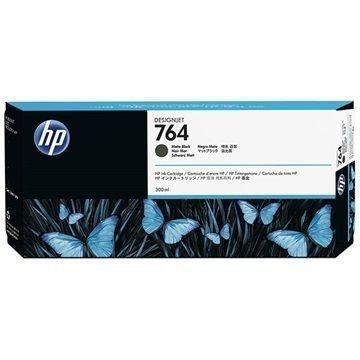 HP 764 Mustepatruuna C1Q16A Matta Musta